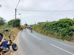 Upton Towans, Tour of Britain cycles-4