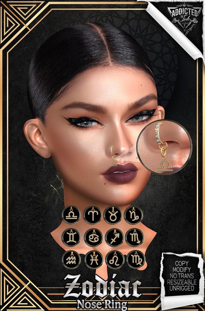 Zodiac Nose Rings