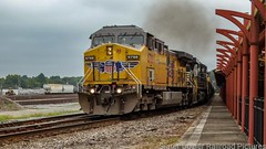 NS 345 / UP 6788 NS 9942 UP 5697 / Hattiesburg, MS / 9/7/21