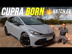 Is Cuprau2019s All-Electric Born Compact Hatch More Than A Fancier-Looking VW ID.3?