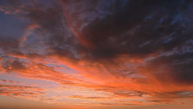 Sunrise, solitude, serenity