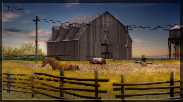 Horses make the landscapes look more beautiful!