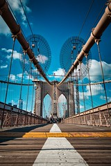 Fotowalk Brooklyn Bridge Eastriver Canon EOS M50