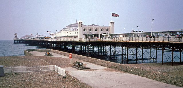 Brighton Pier, July 11, 1989