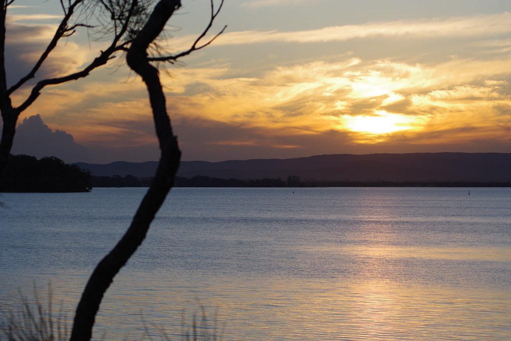 Sunsets, Lake Macquarie