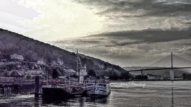 River Seine @ Caudebec-en-Caux 1bwca-1
