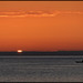 Kayaker, Sunset and the Green Flash