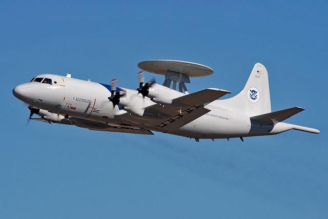 N145CS P-3B CBP