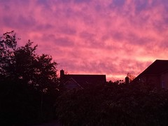 Red a Sky at night