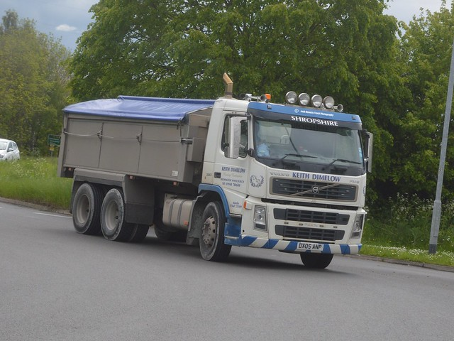 Keith Dimelow DX05 ANP Driving Along the A5 At Oswestry