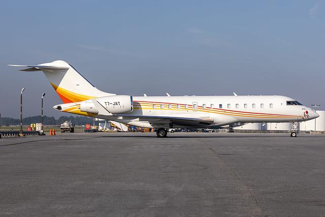 T7-JAT - Bombardier Global Express XRS - KATL - Oct 2021