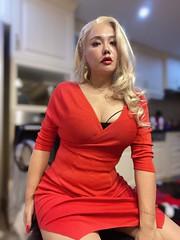 #corset #tg #ts #tgirl #transgender #transsexual #gurl #m2f #mtf #makeup #lingerie #feminization