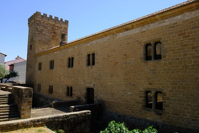 XE3F9530 - Palacio de los Reyes de Navarra - Palace of the Kings of Navarra (Sangüesa, Navarra)
