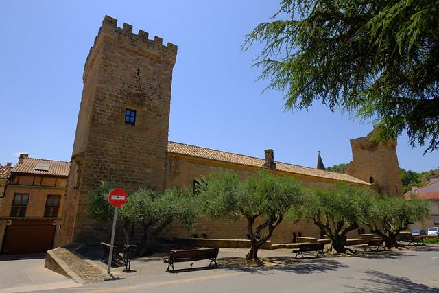 XE3F9524 - Palacio de los Reyes de Navarra - Palace of the Kings of Navarra (Sangüesa, Navarra)