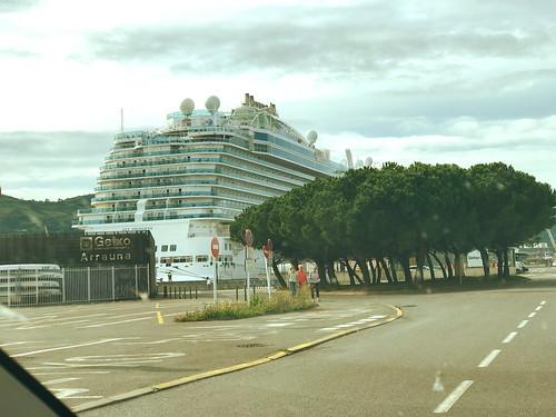 Crucero Sky Princess en Getxo (Bizkaia)