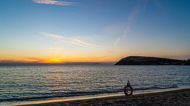 A Limnos Sunset (2)  (View from Richa Nera Beach) (Greece - NE Aegean) Olympus OM-D EM1.3 & Laowa 10mm F2 Prime Lens