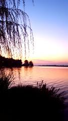 Sunset on Mantua Lake