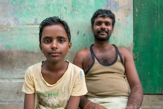Kumartuli brothers, Kolkata, India