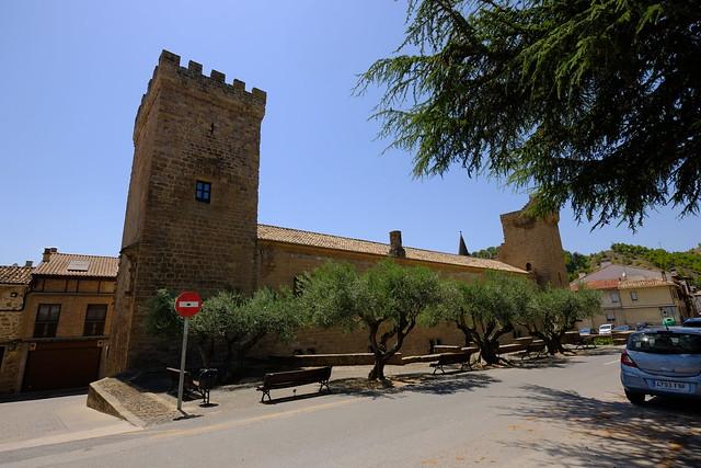 XE3F9518 - Palacio de los Reyes de Navarra - Palace of the Kings of Navarra (Sangüesa, Navarra)