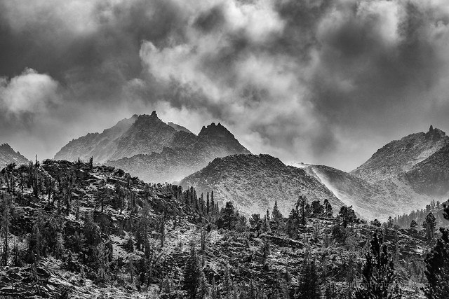 Sierra Snow Storm October 8