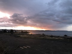 Commencement Bay sunset
