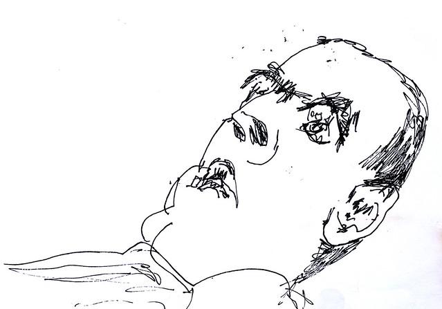 האומנים הישראליים רישומים של דיוקנאות ציור בקו אקספרסיבי רפי פרץ הרישום העכשווי האקספרסיבי הרישומים העכשוויים האקספרסיביים