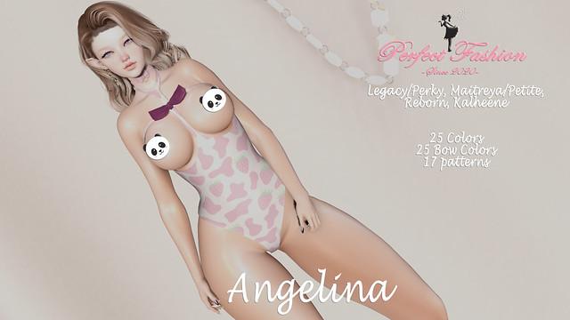 [Perfect Fashion] Angelina Bodysuit