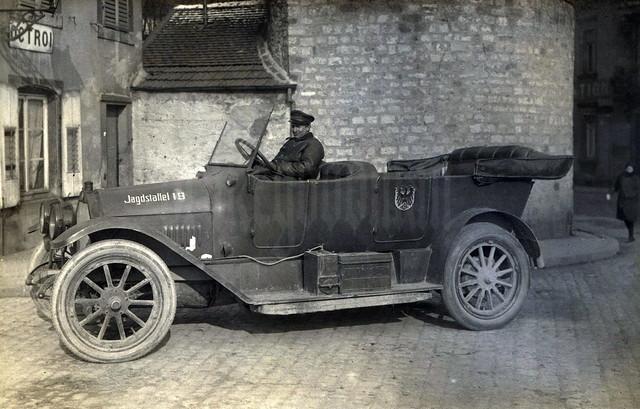 Benz belonging to Jagdstaffel 19