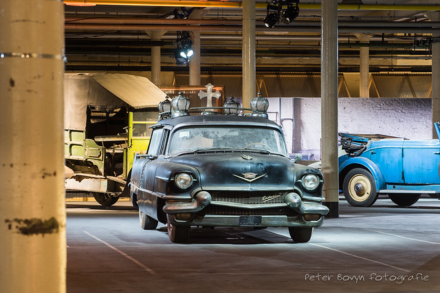 Cadillac Sixty Special Fleetwood Hearse - 1956
