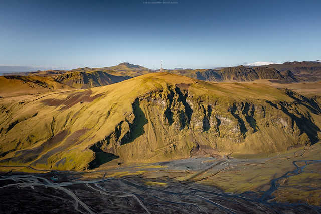 Over Iceland