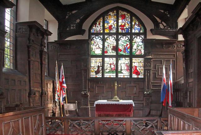 CholmondeleyCastle Chapel