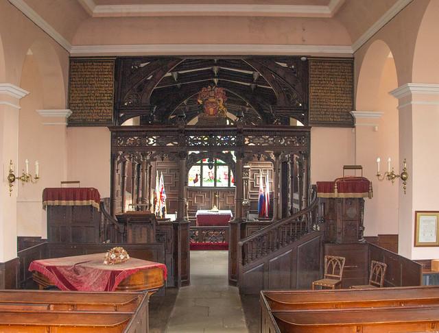 Cholmondeley Castle Chapel