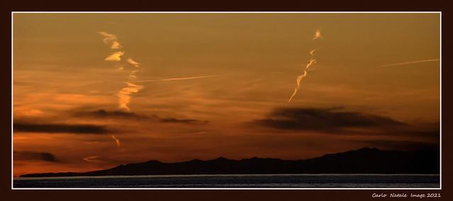 Twilight on the Gulf of Genoa
