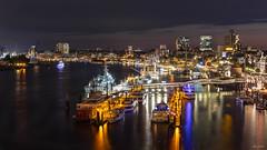 the beauty of Hamburg at night