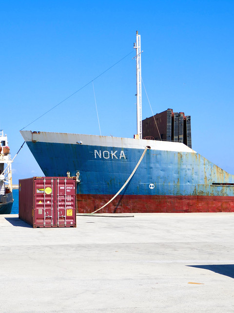 Port of Heraklion Minimal