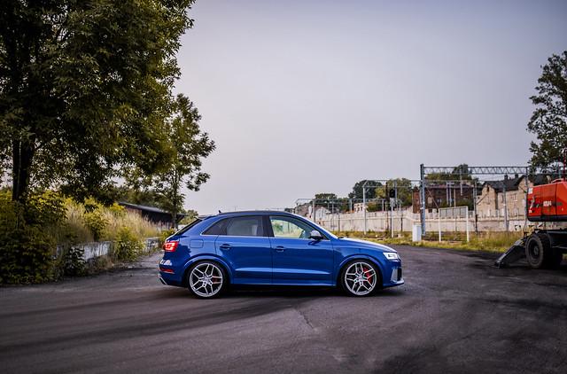 Audi RSQ3 | Concaver Wheels CVR5 Brushed Titanium