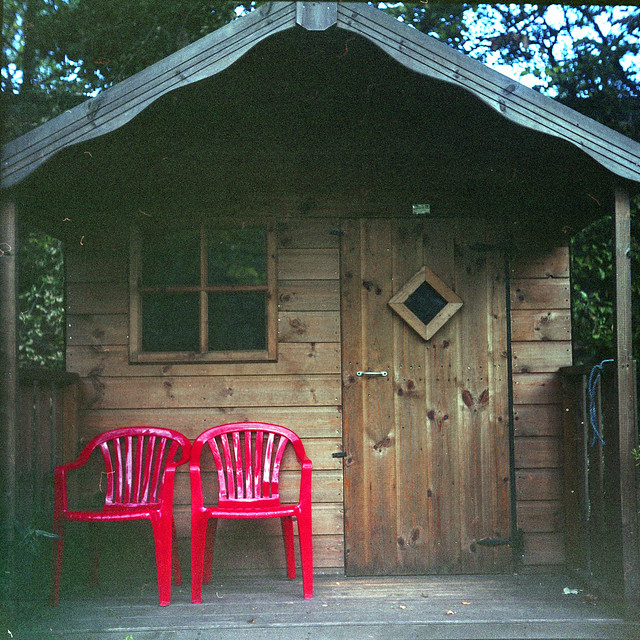 Two Red Chairs