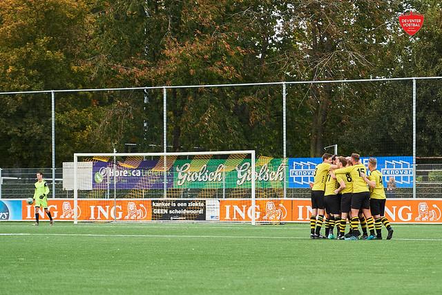 SV Colmschate '33-VV Activia Deventer Voetbal 17-10-2021