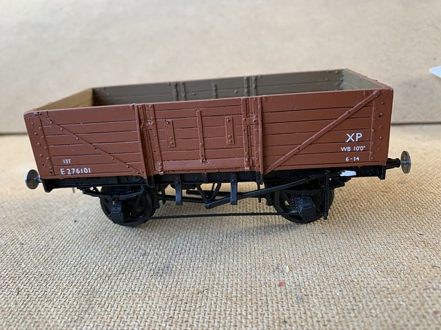 LNER 6 plank wagon diagram 185