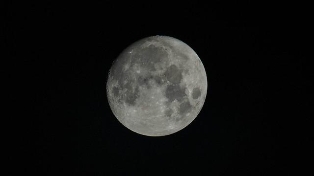Moon, Lieksa 19.10.2021