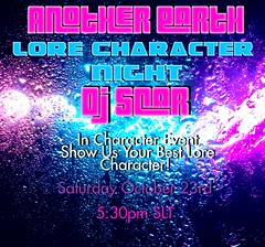 Another Earth : In Character Lore Character Night
