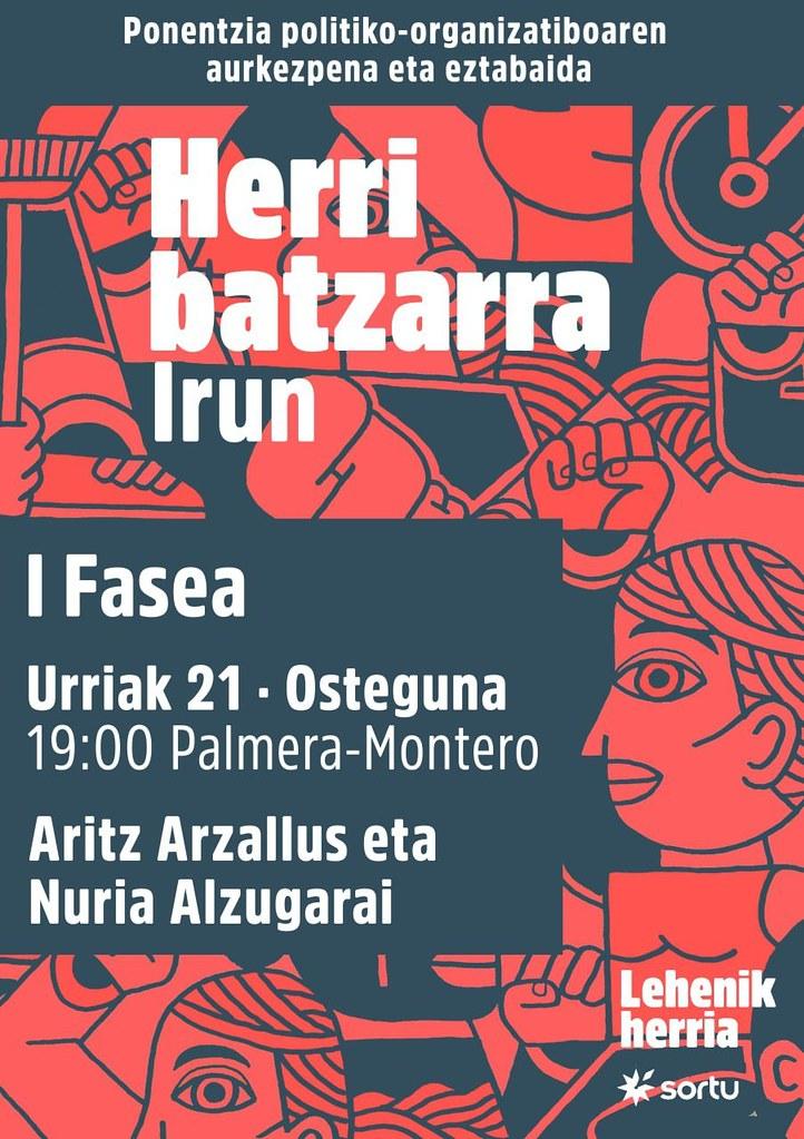 Sortu, U21 Herri batzarra