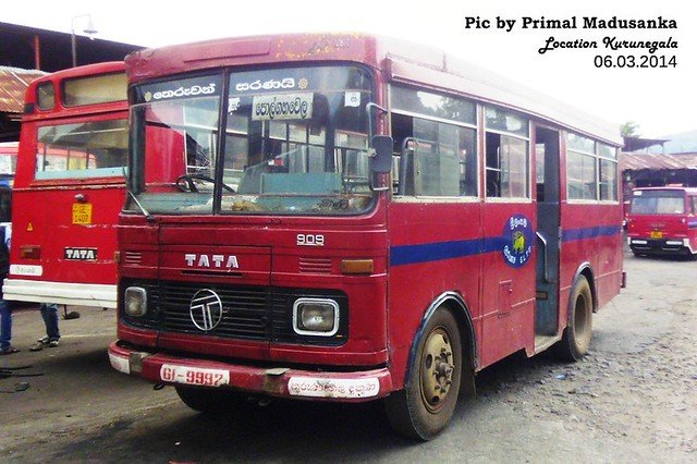 61-9997 Kurunegala South Depot Tata - LP 909/36 Latec D type Bus at Kurunegala in 06.03.2014