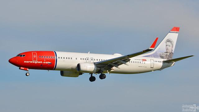 Norwegian 🇳🇴️ Boeing 737-800 LN-NOH