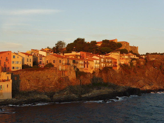 Sunrise on Collioure