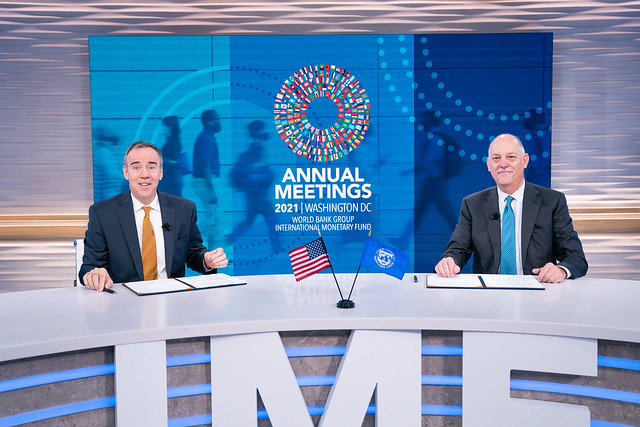 IMF Capacity Development and USAID Signing Ceremony