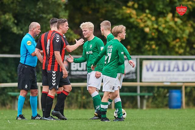 VV De Gazelle- SV Groen Wit '62 Apeldoorn Deventer Voetbal 17-10-2021