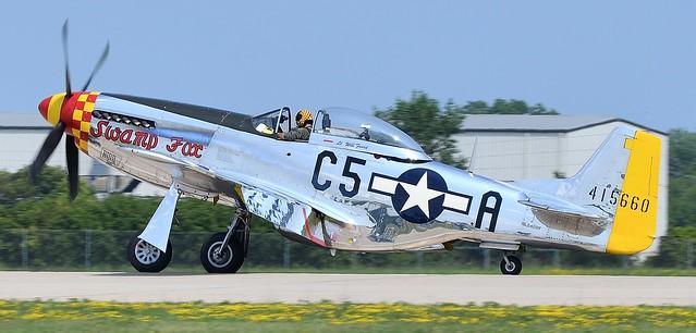 North American P-51D Mustang 44-74202 USAF NL5420V N5420V 415660 C5-A Swamp Fox