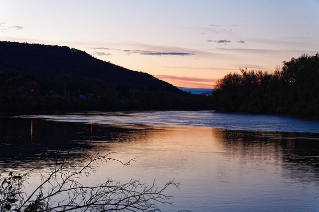 Mohawk River Twilight