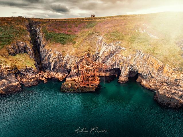 Samson Shipwreck - Ardmore Head (Ireland)